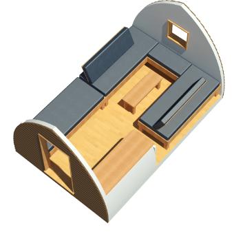 Big Cheif Wigwam® Cabin