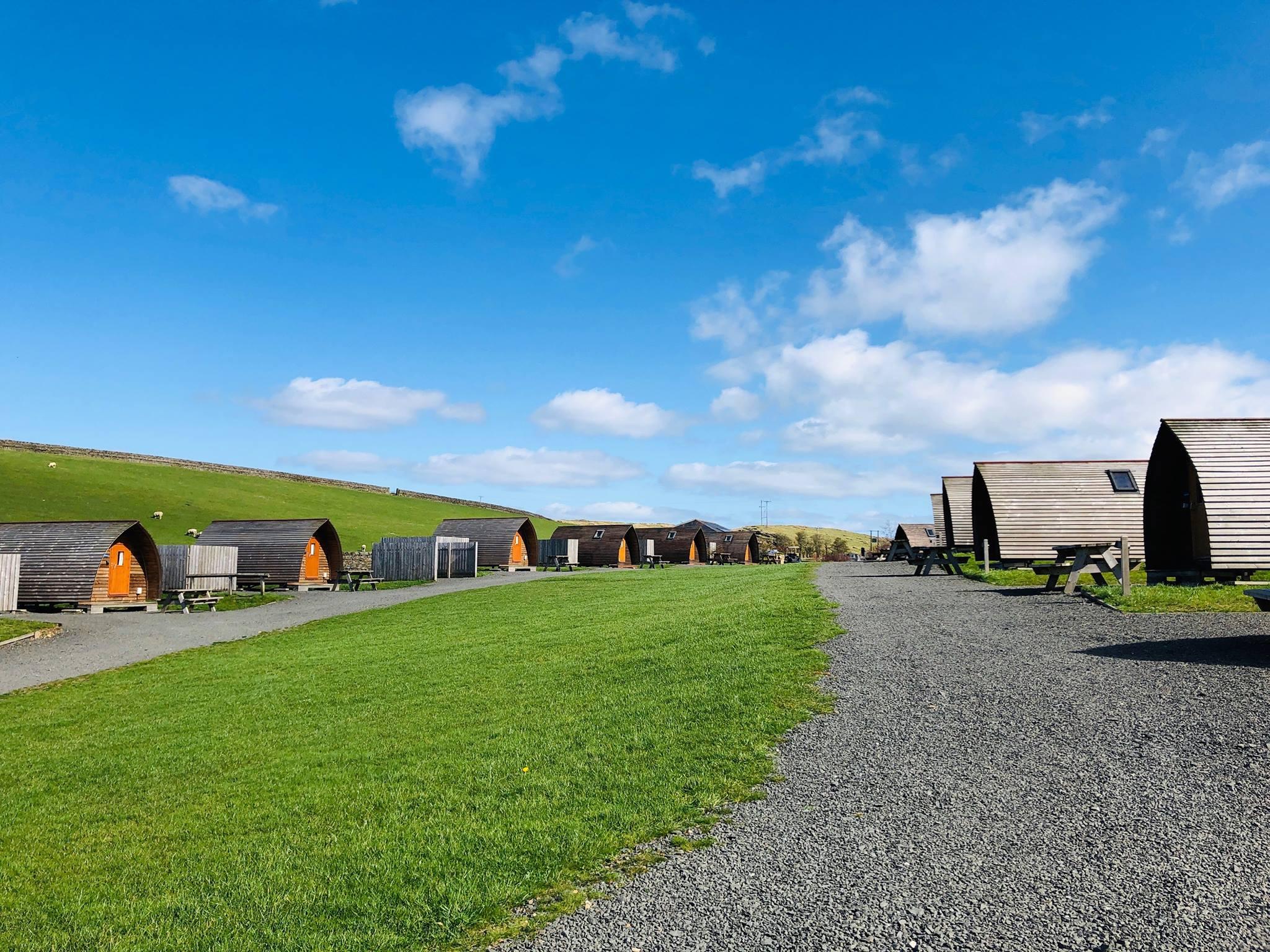 wigwam cabins at herding hill farm