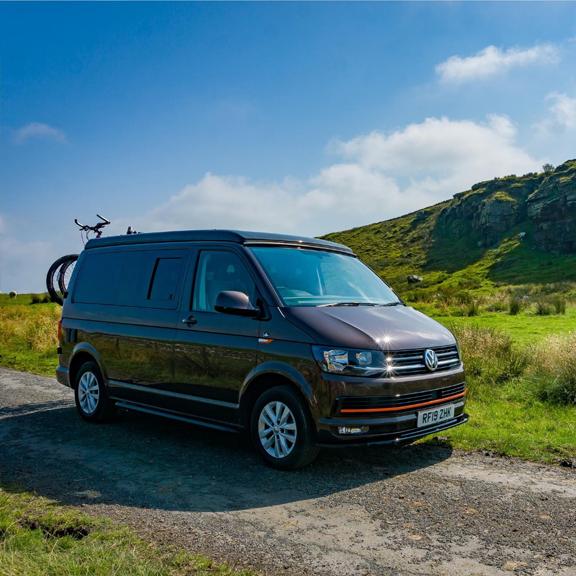 VW camper van hire